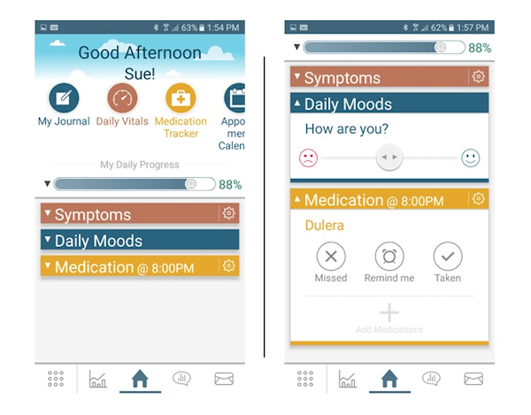 Asthma Storylines App Welcome Screen