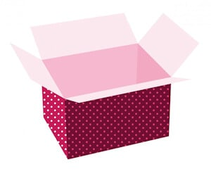Subscription gift box
